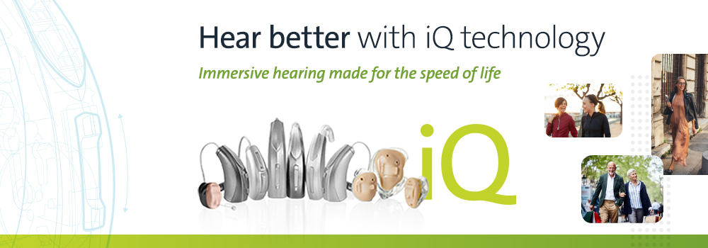 Audibel iQ Hearing Aid - Fit for a new dimension in hearing